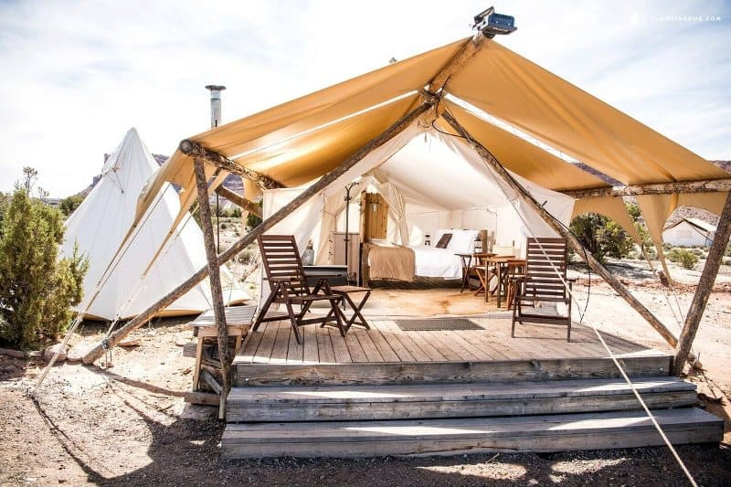luxury-tent-in-utah