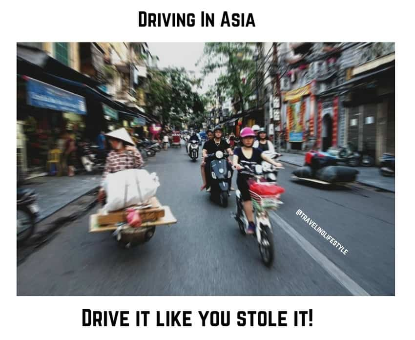 travel quote - driving in asia