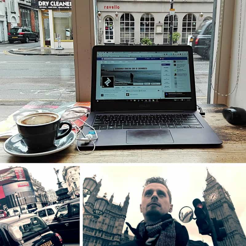 digital nomad in london